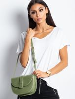 Zielona mała torebka miejska                                  zdj.                                  4