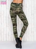 Zielone legginsy z motywem militarnym                                  zdj.                                  4