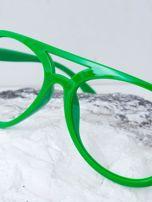 Zielone okulary bez szkieł                                  zdj.                                  3