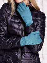 Zielone rękawiczki z guzikami                                  zdj.                                  1