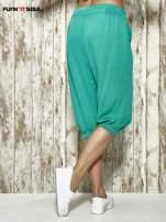 Zielone spodnie alladynki z bocznymi kieszeniami FUNK N SOUL                                                                          zdj.                                                                         4