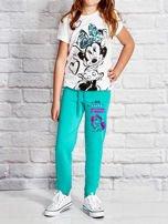 Zielone spodnie dresowe dla dziewczynki LITTLE CUTE PONY                                  zdj.                                  4