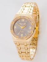 Złoty zegarek damski na bransolecie                                  zdj.                                  1