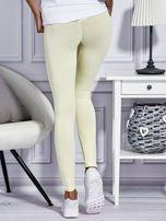 Żółte legginsy basic                                  zdj.                                  2