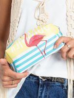 Żółto-niebieska torba z flamingiem                                  zdj.                                  9