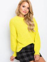 Żółty sweter Zoe                                  zdj.                                  5